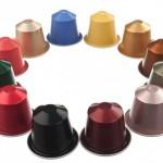 Färgglada kapslar från Nespresso till din espressomaskin