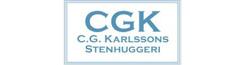 C.G Karlssons Stenhuggeri,grovkok,bankskivor
