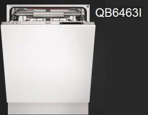 Integrerad diskmaskin med låg ljudnivå som är perfekt för öppna planlösningar.
