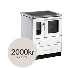 Modern vedspis med mysfaktor för det supermoderna köket - Kampanj fram till årskiftet 2017 på Viking 60 från Josef Davidsons Eftr.